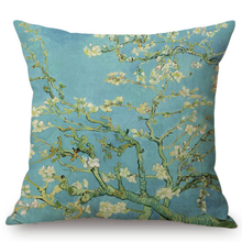 Load image into Gallery viewer, Vincent Van Gogh Inspired Cushion Covers 44X44Cm No Filling / Almond Blossoms Cushion Cover