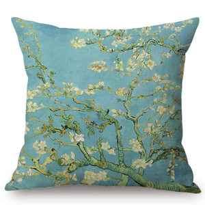 Vincent Van Gogh Inspired Cushion Covers 44X44Cm No Filling / Almond Blossoms Cushion Cover