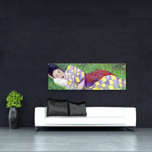 Load image into Gallery viewer, Spring Nap painting by Chiara Magni