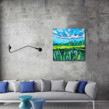 Load image into Gallery viewer, Dandelions painting by Chiara Magni