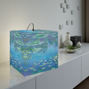 "Claude Monet ""Water Lilies"" Cube Lamp"