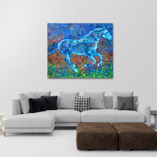 Load image into Gallery viewer, Galaxy Hunter painting by Chiara Magni