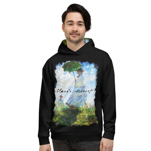 "Claude Monet ""Madame Monet and Her Son"" Unisex Hoodie"