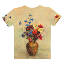"Load image into Gallery viewer, Odilon Redon ""Flowers in a Vase"" Women's T-Shirt"