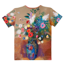 "Load image into Gallery viewer, Odilon Redon ""Bouquet of Flowers"" Women's T-Shirt"
