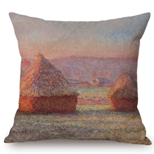 Claude Monet Inspired Cushion Covers Haystacks Cushion Cover
