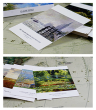Load image into Gallery viewer, Claude Monet Postcards - 30 sheets/pack