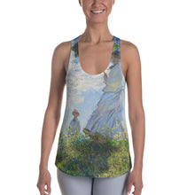 "Load image into Gallery viewer, Claude Monet ""Madame Monet and Her Son"" Women's Tank"