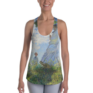 "Claude Monet ""Madame Monet and Her Son"" Women's Tank"