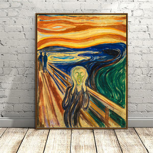 "Edvard Munch ""The Scream"" Wall Art"