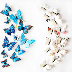 12pcs Butterfly Wall Stickers