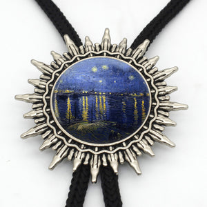 Vincent van Gogh Inspired Tie Necklace