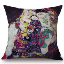 Load image into Gallery viewer, Gustav Klimt Inspired Cushion Covers The Virgens Cushion Cover