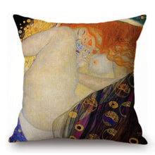 Load image into Gallery viewer, Gustav Klimt Inspired Cushion Covers Danae Cushion Cover