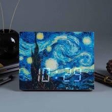Vincent van Gogh LED Art Desk Clock