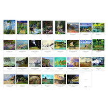 Claude Monet Postcards - 30 sheets/pack