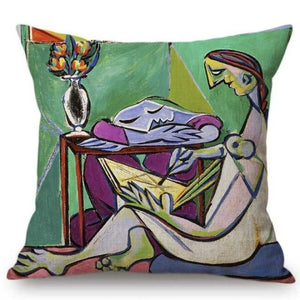 Pablo Picasso Inspired Cushion Covers T180-13 Cushion Cover