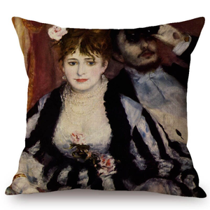 Auguste Renoir Inspired Cushion Covers 12 Cushion Cover