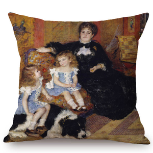 Auguste Renoir Inspired Cushion Covers 16 Cushion Cover