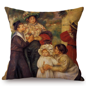 Auguste Renoir Inspired Cushion Covers 18 Cushion Cover