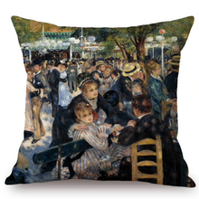 Auguste Renoir Inspired Cushion Covers 2 Cushion Cover