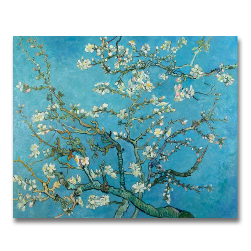 Branches with Almond Blossom hand-painted Van Gogh reproduction