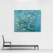 Load image into Gallery viewer, Branches with Almond Blossom hand-painted Van Gogh reproduction