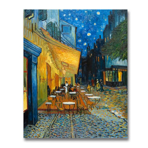 Café Terrace at Night hand-painted Van Gogh reproduction
