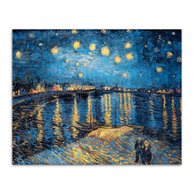 "Vincent van Gogh ""Starry Night Over The Rhone"" Wall Art"
