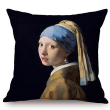 Johannes Vermeer Inspired Cushion Covers 1 Cushion Cover