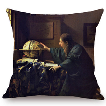 Johannes Vermeer Inspired Cushion Covers 3 Cushion Cover