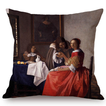 Johannes Vermeer Inspired Cushion Covers 4 Cushion Cover