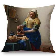 Johannes Vermeer Inspired Cushion Covers 5 Cushion Cover