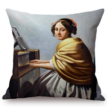 Johannes Vermeer Inspired Cushion Covers 6 Cushion Cover