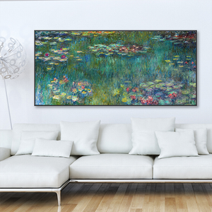 "Claude Monet ""Water Lilies"" Wall Art"
