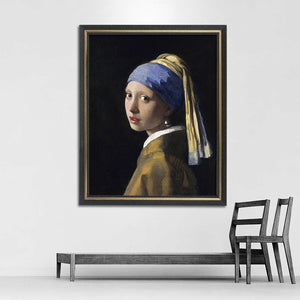"Johannes Vermeer ""Girl With a Pearl Earring"" Wall Art"