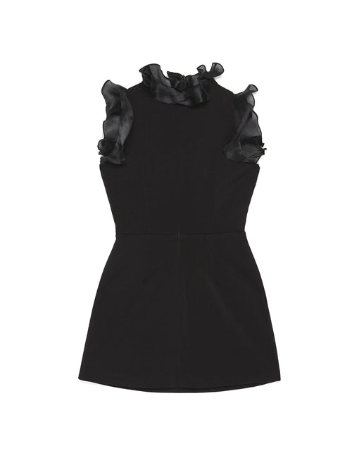 MARSHMALLOW DRESS (BLACK)