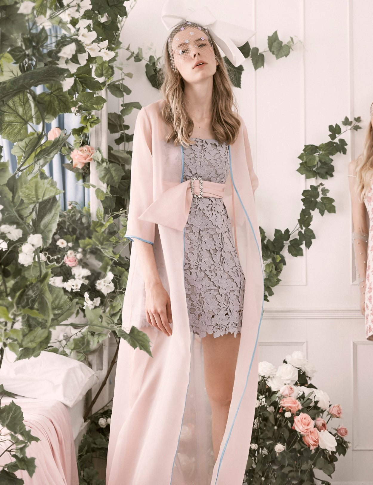 Dusty Miller Dress