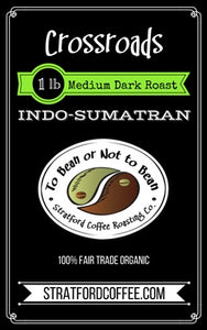 "Medium-Dark Roast - ""Crossroads"""