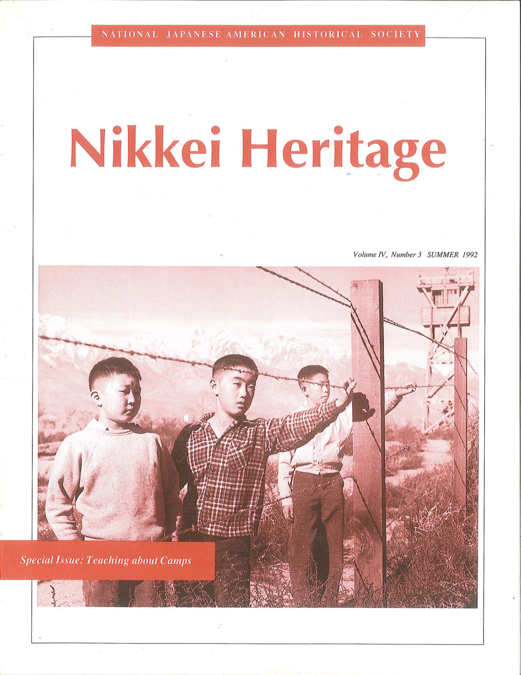 Nikkei Heritage - Special Issue: Teaching about Camps
