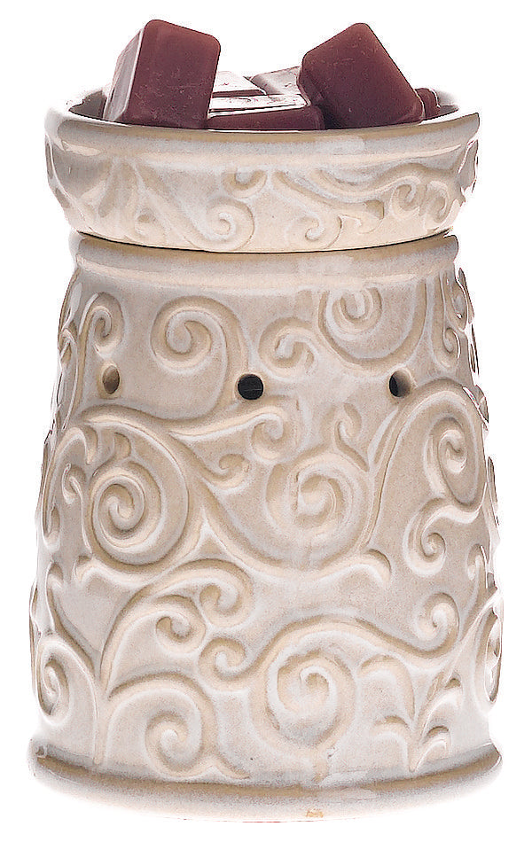 Floral Scroll Melt Warmer