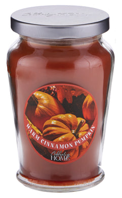 Warm Cinnamon Pumpkin - Classic Candle