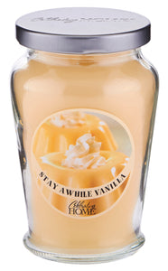 Stay Awhile Vanilla - Classic Candle
