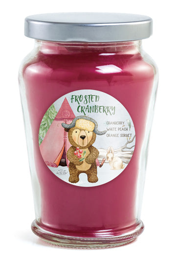 Classic Candle - Frosted Cranberry