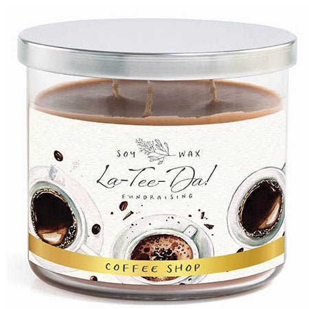 Coffee Shop - 3-Wick Candle