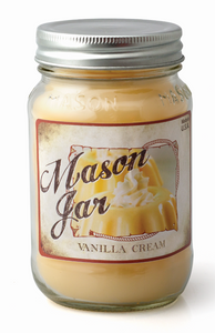 Vanilla Cream - Mason Jar