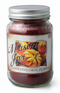 Warm Cinnamon Pumpkin - Mason Jar