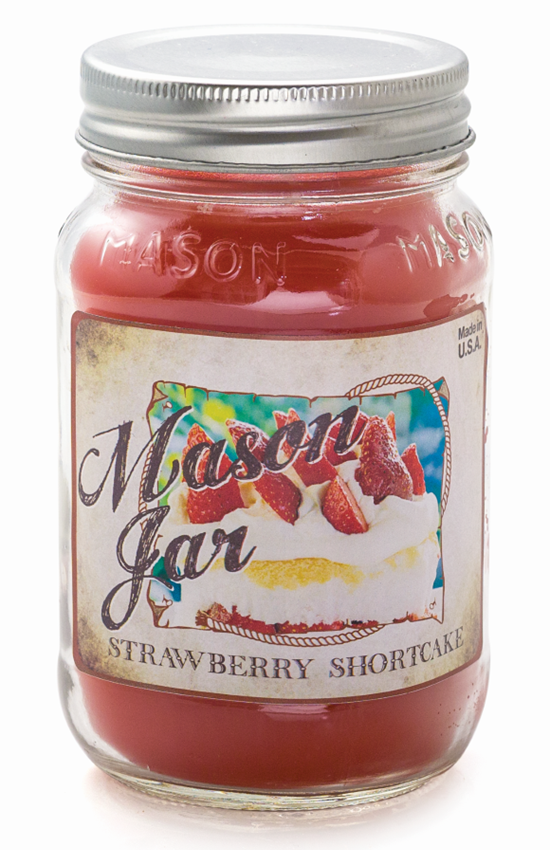 Strawberry Shortcake - Mason Jar