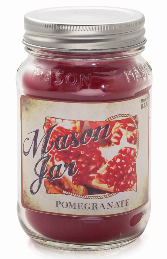 Pomegranate - Mason Jar