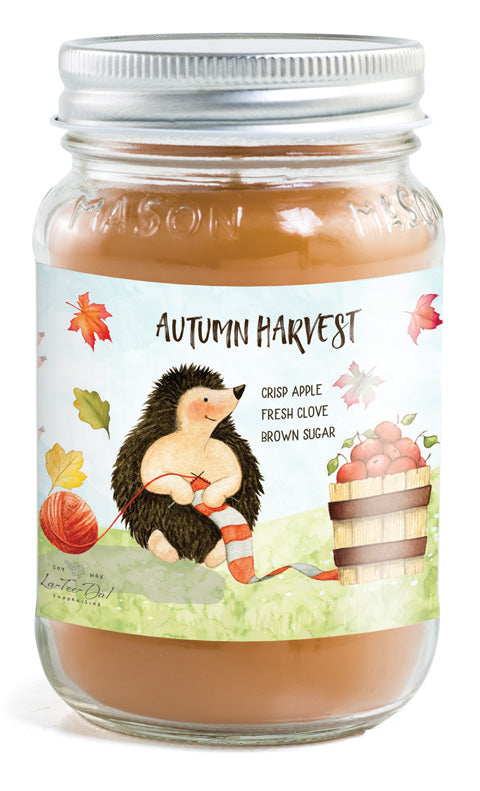 Mason Jar - Autumn Harvest